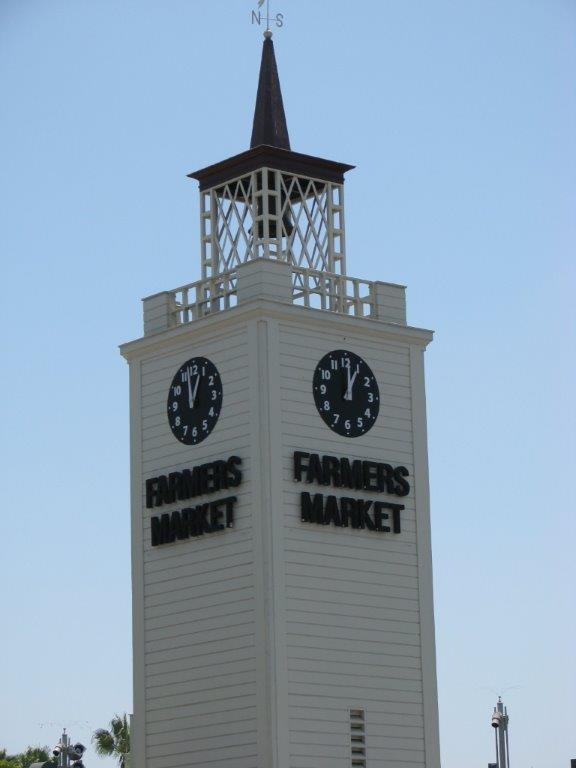 Lunch stop was at the famous Farmers' Market