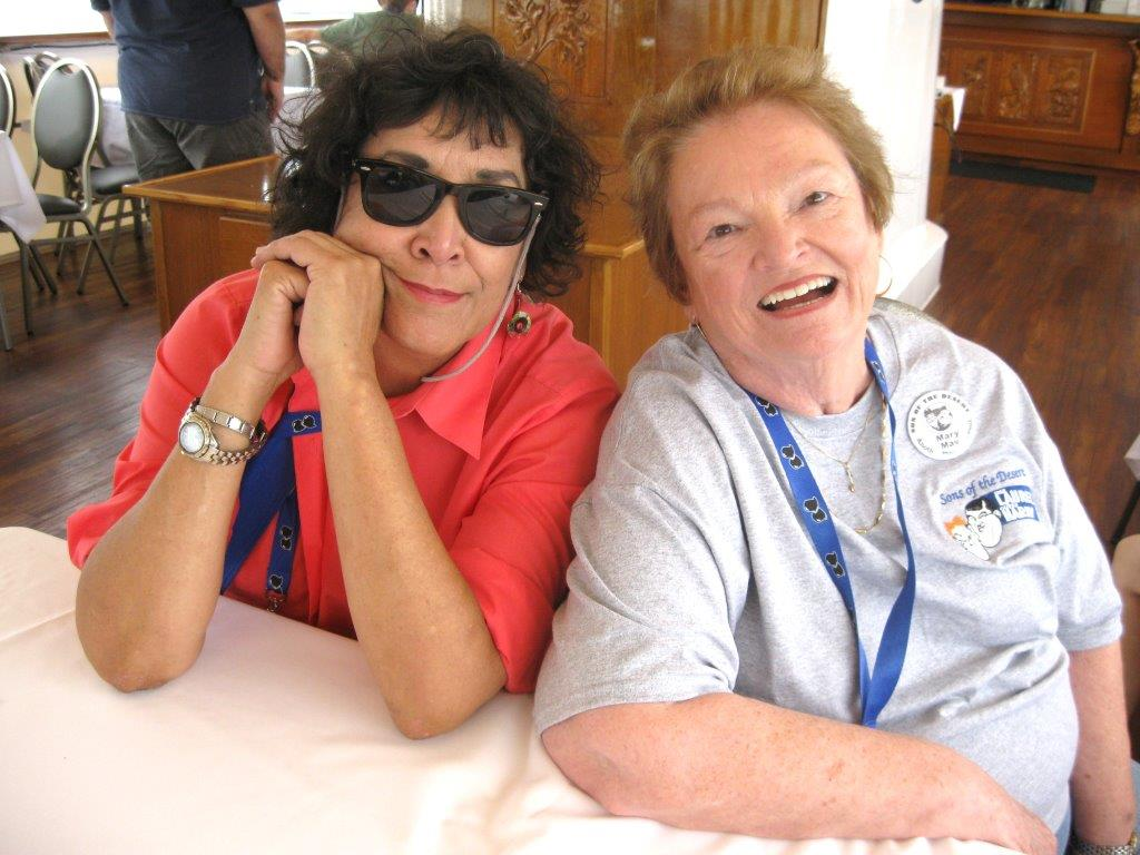 Irene Velasquez and Mary May Vereen