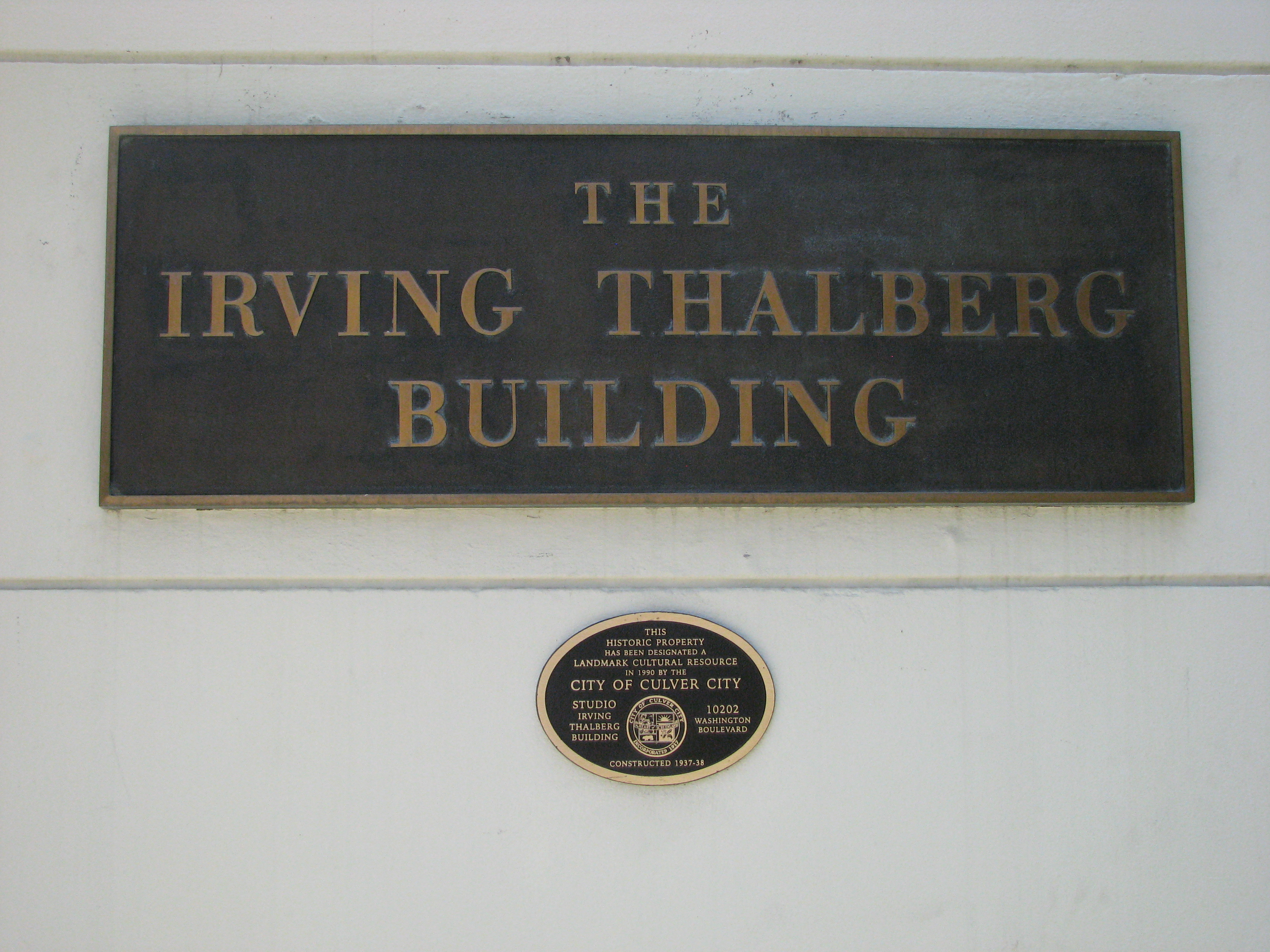 More Oscars waited inside the Irving Thalberg Building.