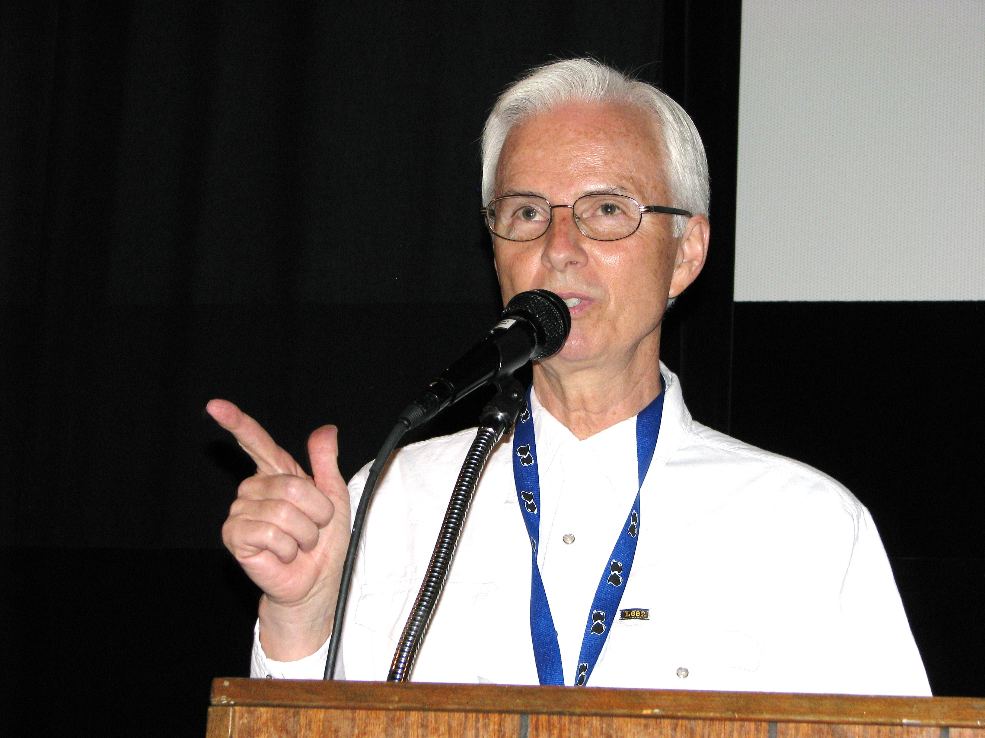 Richard W. Bann introduced another amazing night of films as the convention came to a close.  Thanks Dick for your support with pictures and the films and helping with the film programs!