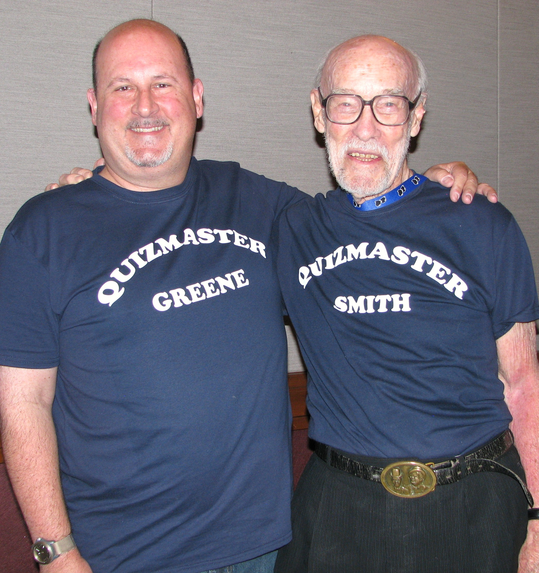 After many years apart Rick and Dwain reunited as they were the original quizmasters for the Sons Trivia Contest.
